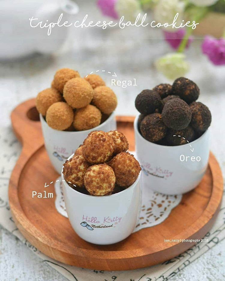 Resep Kue Cake Dessert Di Instagram Palm Cheese Ball Cookies Rebake Iren Natty Penasaran Bikin Kue Ini Akhirny Resep Makanan Dan Minuman Resep Biskuit