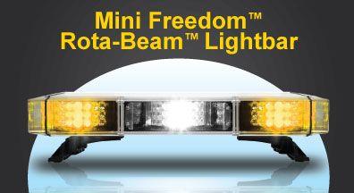 Whelen Mini Freedom Rota Beam Lightbar Bar Lighting Beams Mini