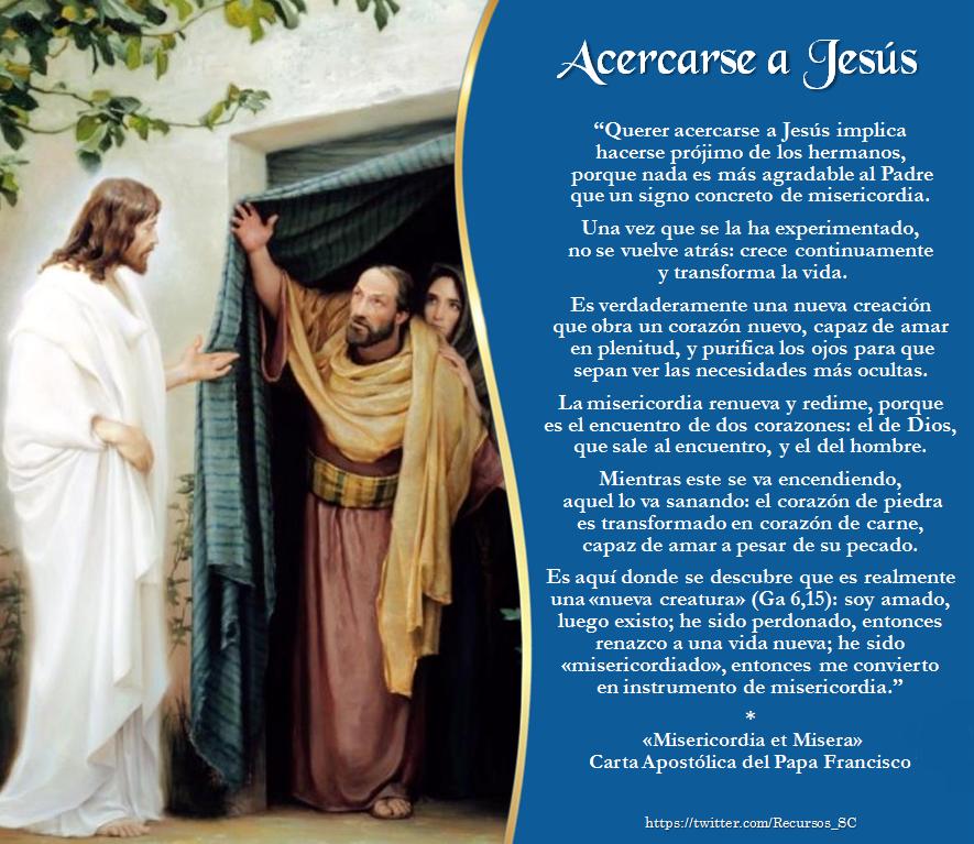 Acercarse A Jesus Misericordias