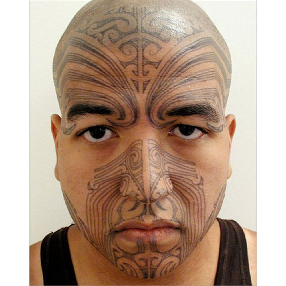 Tinsley Transfers Temporary Face Tattoos Maori tattoo