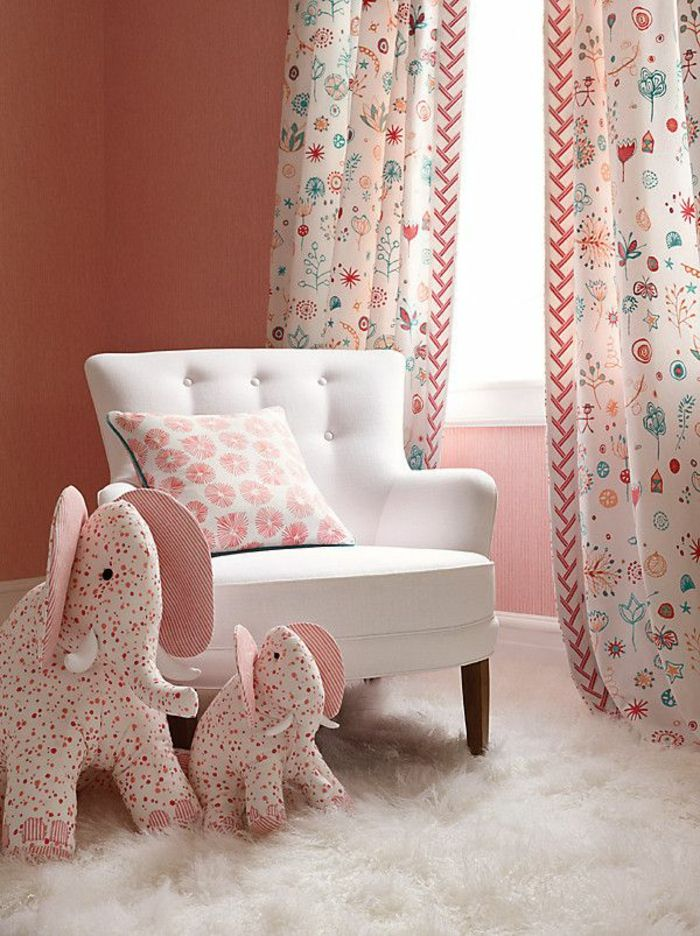 Id es en 50 photos pour choisir les rideaux enfants - Rideaux originaux pour chambre ...