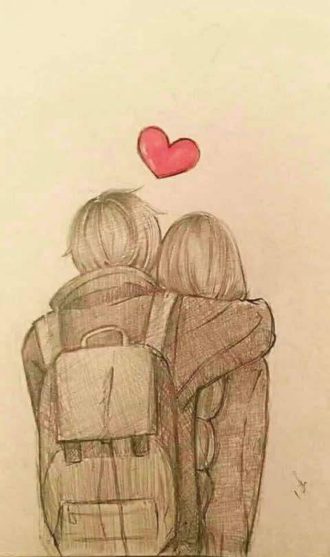 Vocespediramoutra Com Imagens Desenhos De Amor Tumblr