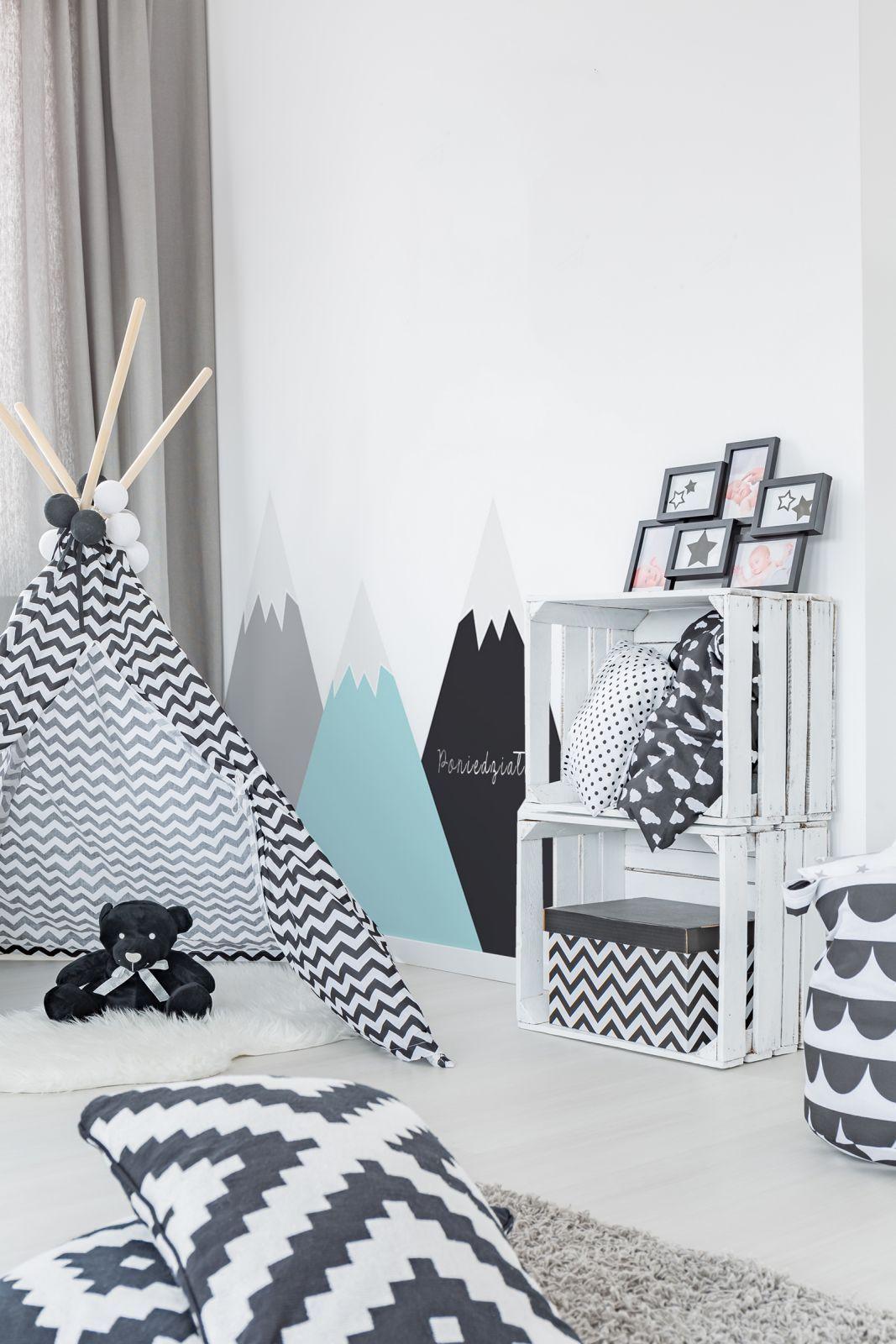 Dekorace za postel Hory máta Dekornik (With images