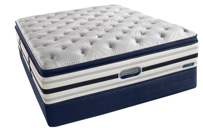 Beautyrest Recharge World Class Manorville Luxury Firm Pillow Top Mattress Set