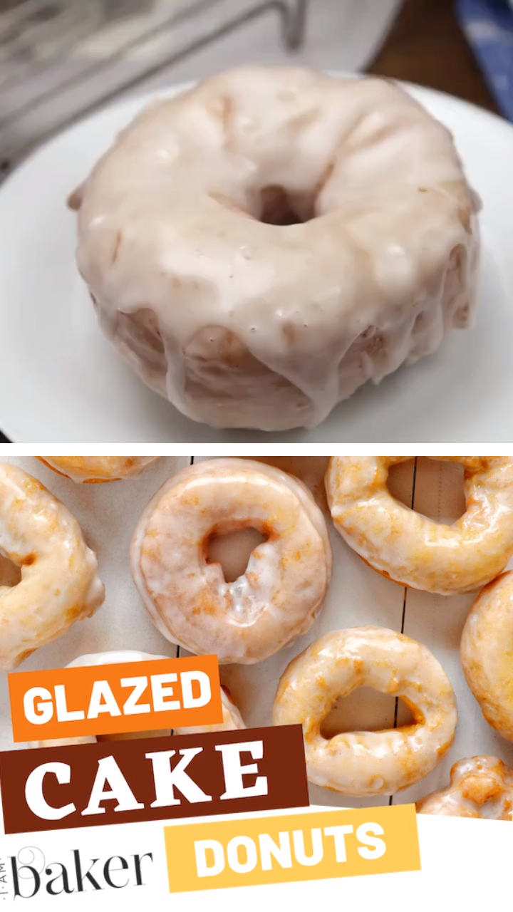 Glazed Cake Donuts