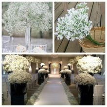 Beautiful Design Lowest Price Plastic Gypsophila Artificial Flower Babys Breath Plants Home Wedding Suitable For Decoration China Mainland