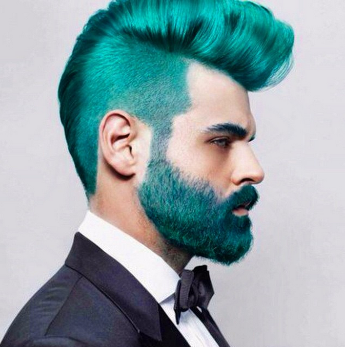 Mermen\' Hair Trend Has Guys Dying Their Hair With Crazy Blues And ...