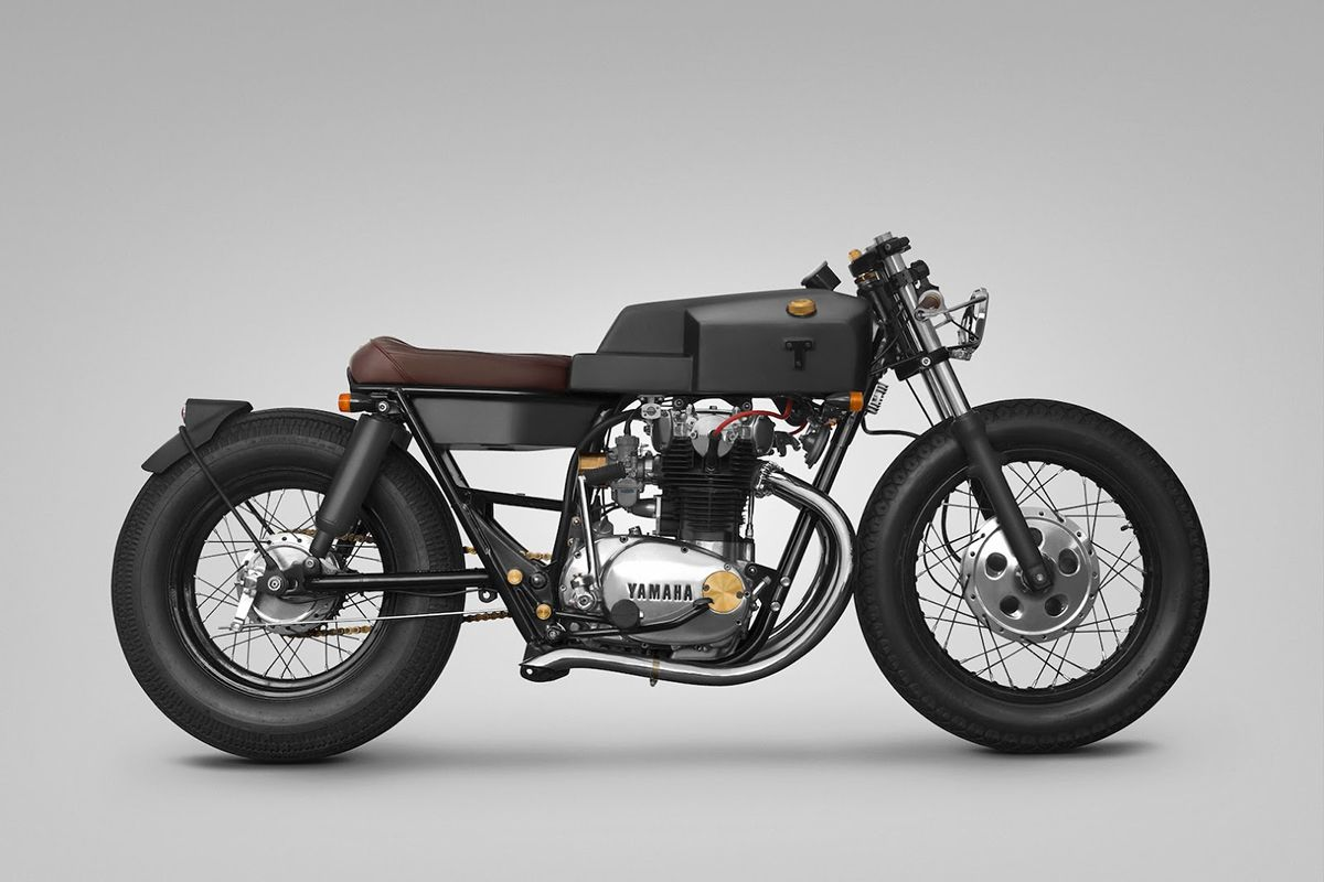 The base bike was a 1980 xs650 in a very poor state cylinders where - Yamaha Xs650 Thrive Motorcycle Yamaha Xs Series Bikes Have Been Some Of The Most Reliable