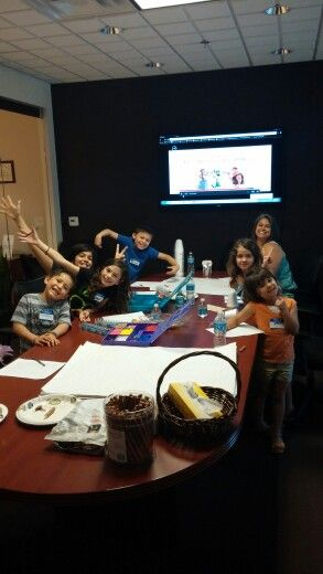Bring your kids to work day at WJ Bradley Mortgage Capital.