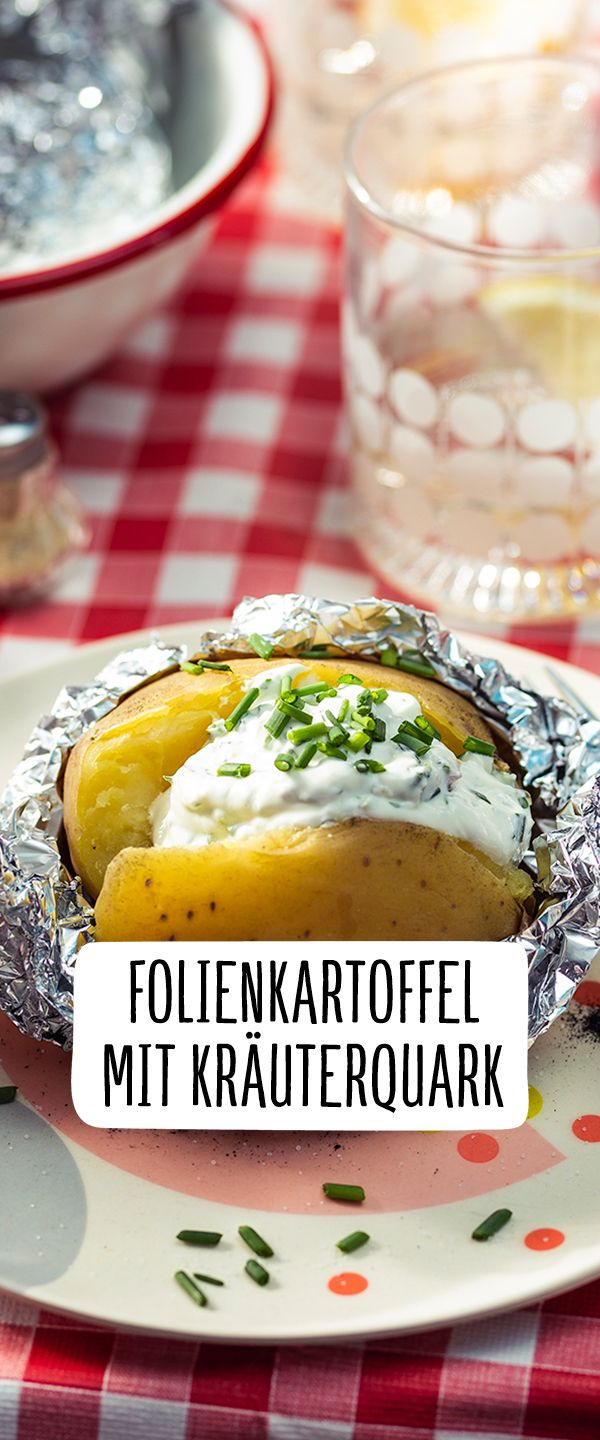 Photo of Foil potato with herb curd