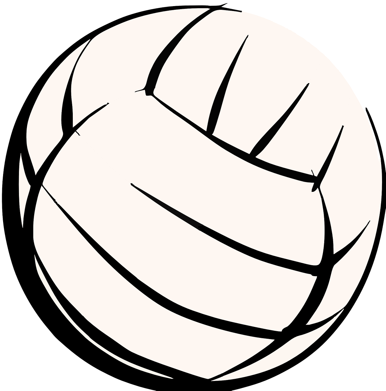 Pin By Starella On Volleyball Art With Images Free Clip Art Volleyball Images Volleyball Pictures