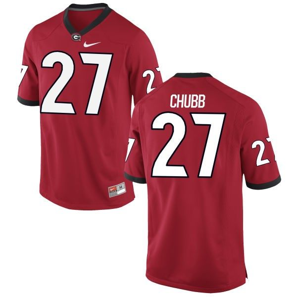 nick chubb uga football jersey