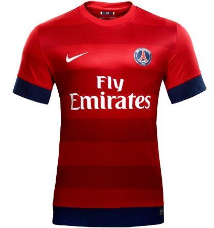 c9aa772f21 Maillot De Foot PSG Exterieur 2012 2013 Paris Futbol