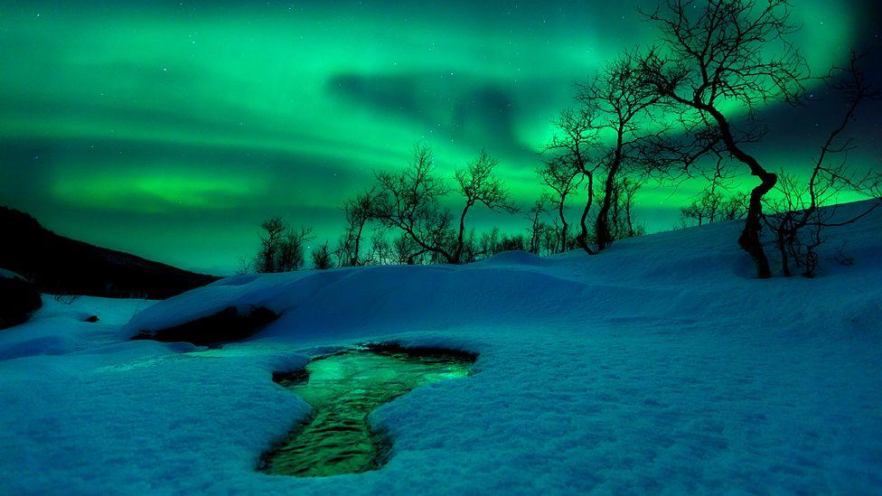 Sobrecogedoras imágenes del cielo y la Tierra