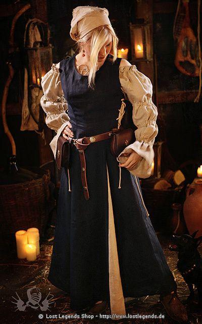 Mittelalterkleid Rouvina