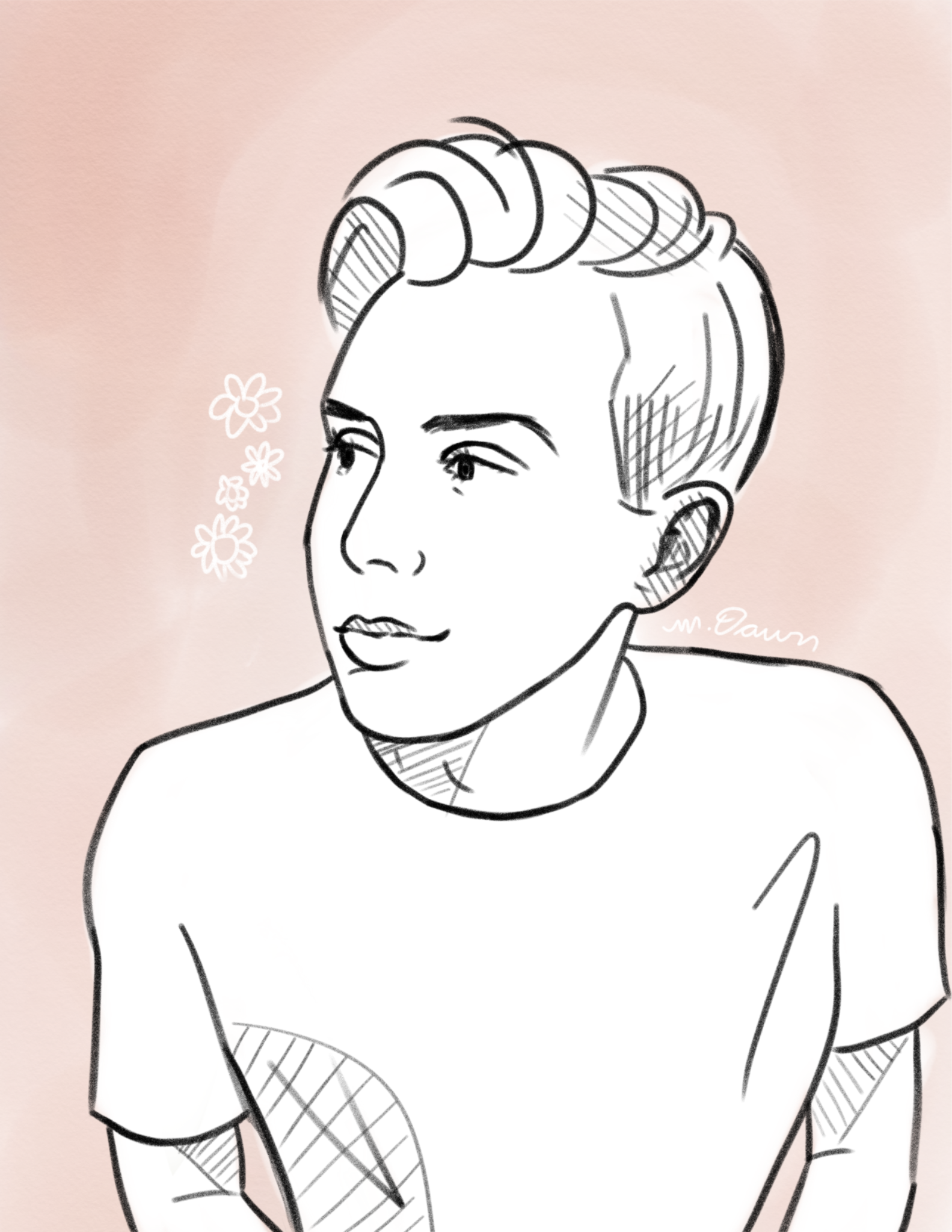 Phil Lester By Drawingdawnart Tumblr And Instagram Digital Stamps Dan And Phil Coloring Pages