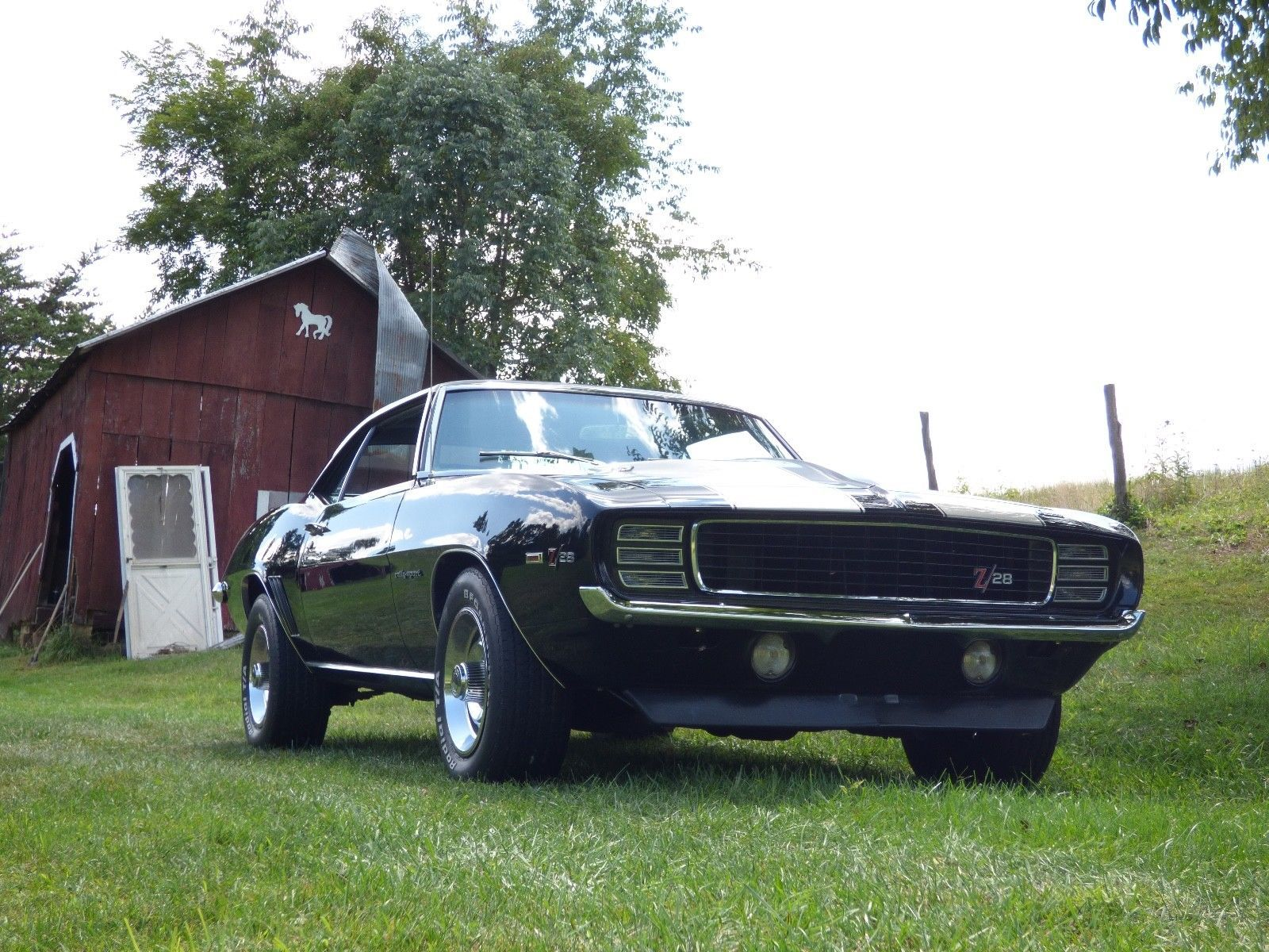 Older Restoration 1969 Chevrolet Camaro Z28 Rs Chevrolet Camaro