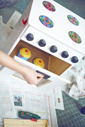 Drewniana Kuchenka Dla Dzieci Elektronarzedzia Narzedzia Budowlane Budowa I Remont