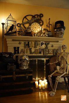Diy Steampunk Halloween Decorations Halloween Fun Diy Halloween