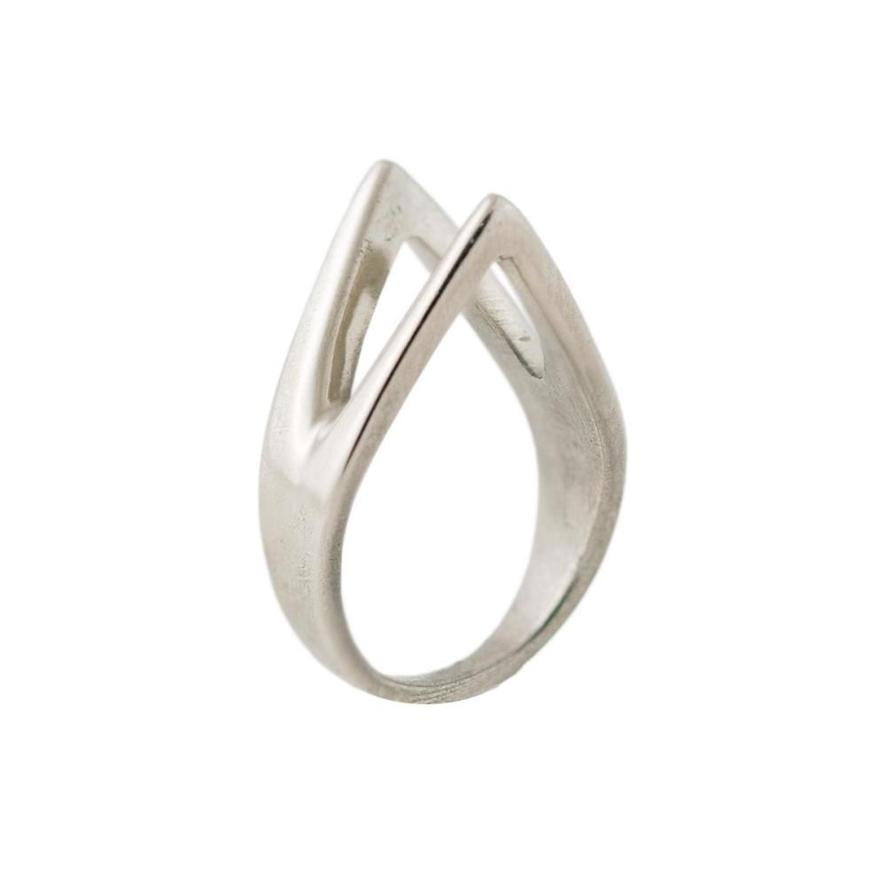 Twin Peaks Ring in Sterling Silver