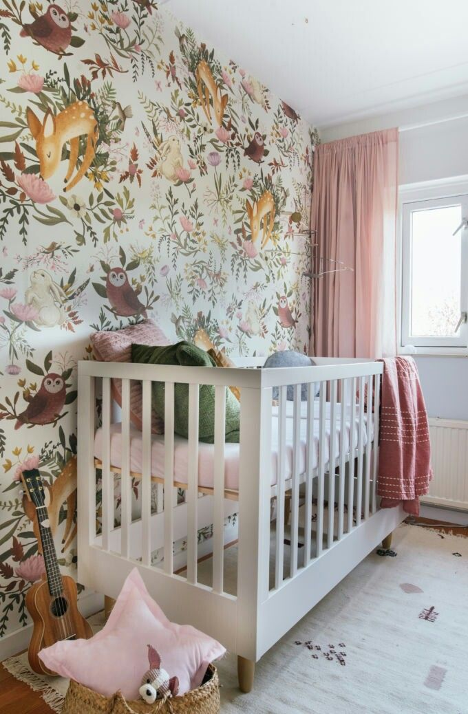 Baby Bedroom In A Box Special: Wonderland Nursery Inspiration. There, The Wallpaper Gives