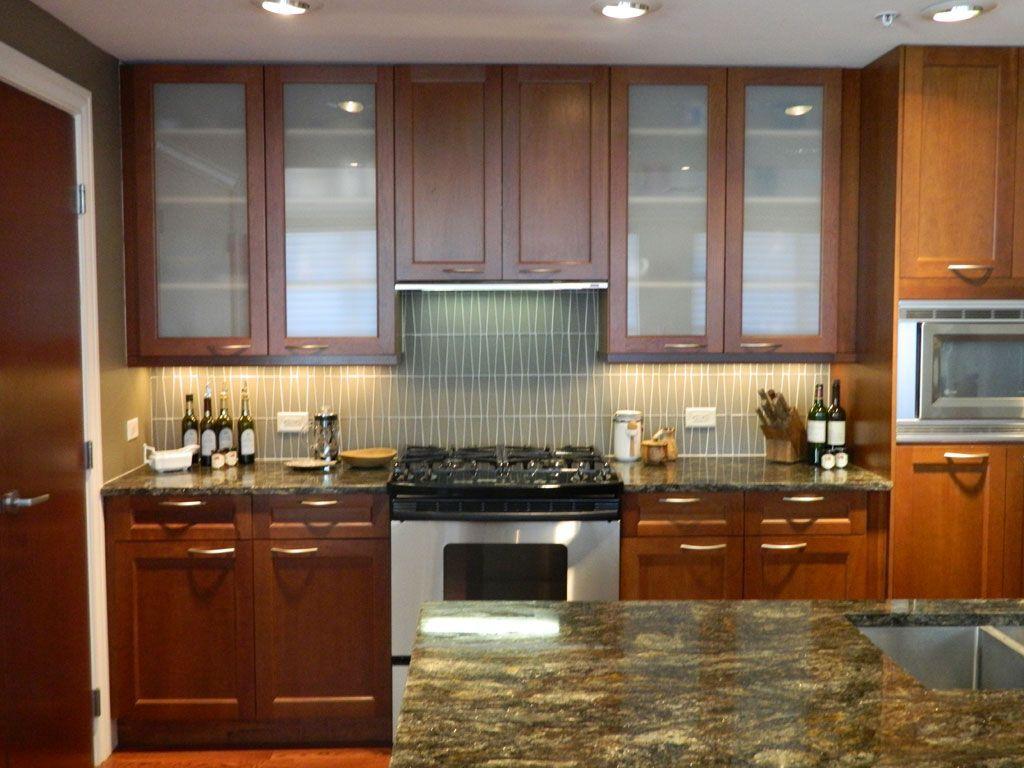 Gorgeous Frameless Glass Kitchen Cabinet Doors - Teraion ...