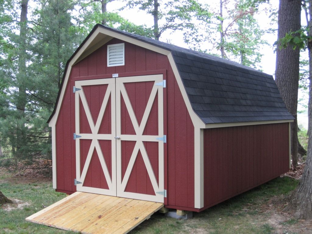 Gambrel Roof Shed Vs Gable Roof Shed Which Design Is Best For You Gambrel Roof Barn Style Shed Gambrel