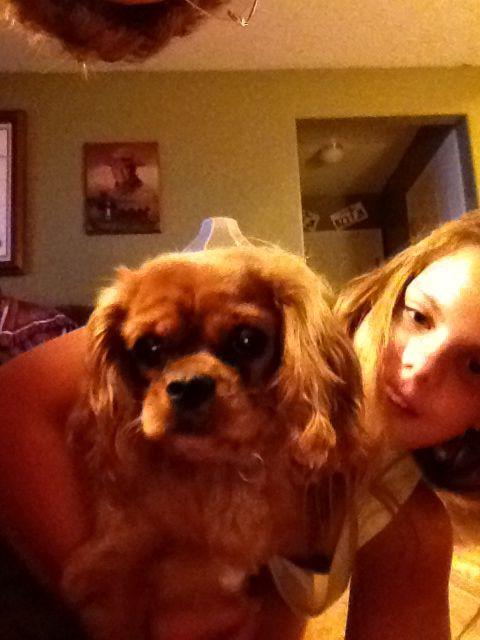 Miss Ruby & C doing a selfie