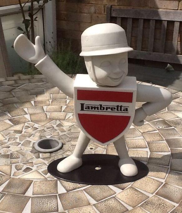 Lambretta Service Man