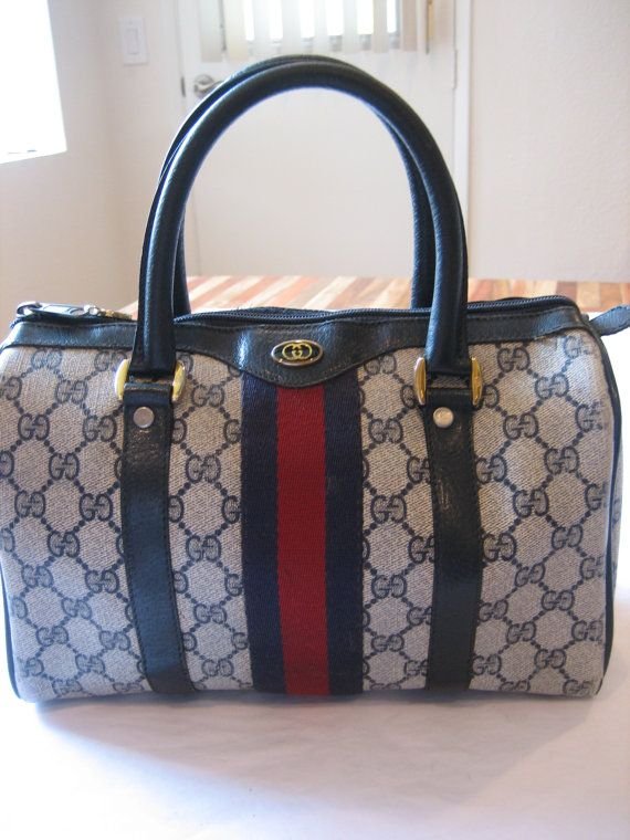 a253634b6b7bb7 Authentic Vintage Gucci Speedy Doctor Boston Bag by CLASSYBAG ...