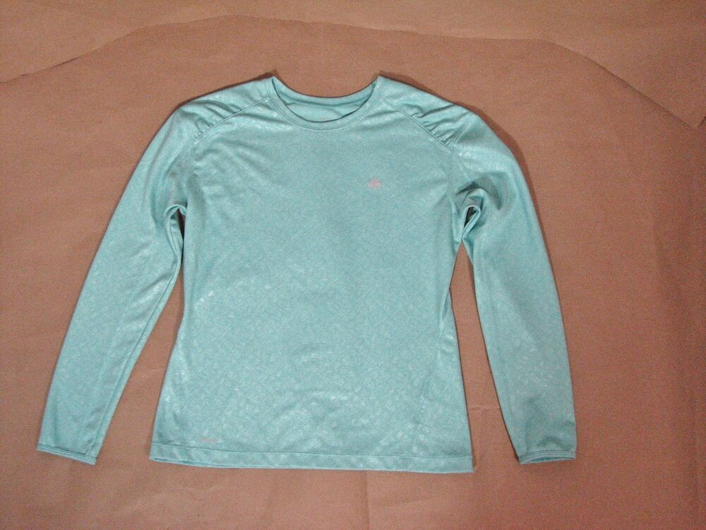 Nike Acg Long Sleeve Light Blue Fit Dry Shirt Top M Women Nike Activewearlongsleeve Nike T Shirts Women S White Tank Top Women Long Sleeve Tshirt Men