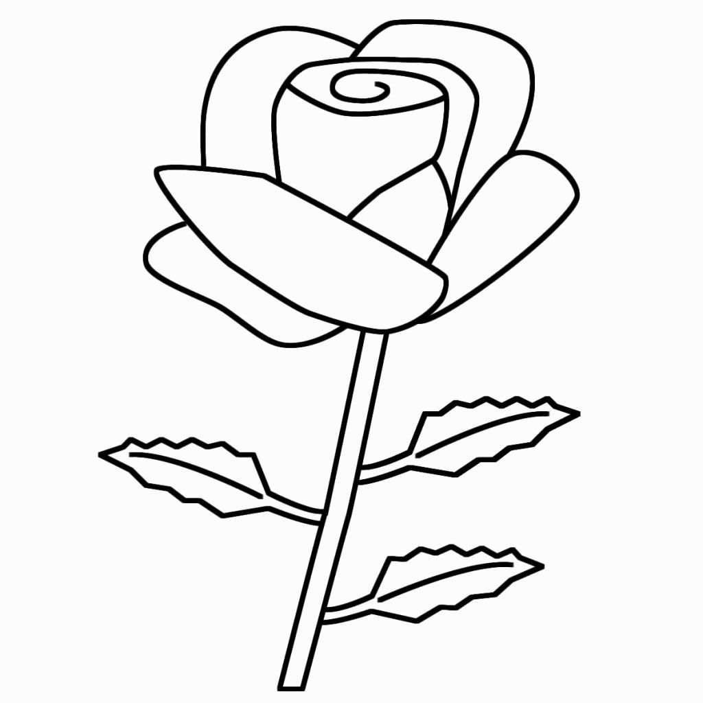 Roses For Coloring Rose Coloring Pages Flower Coloring Pages Heart Coloring Pages