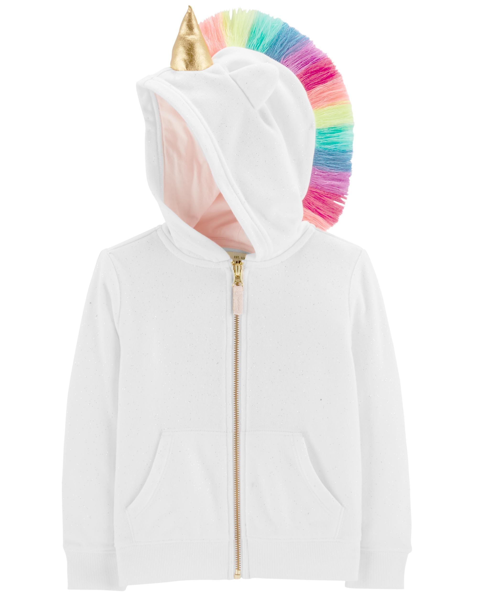 fbb3198a3 Unicorn Glitter Hoodie in 2019
