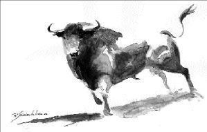 Dibujo Toros Dibujos De Toros Toros Toros De Lidia