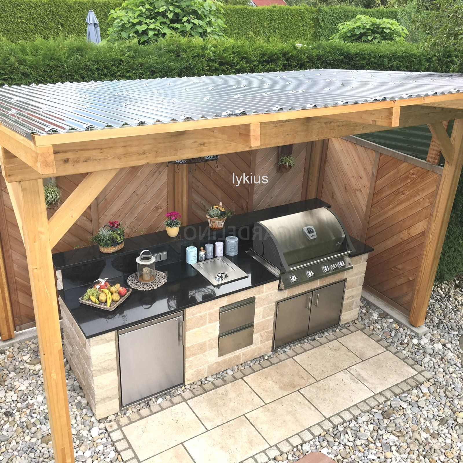 Bbq Corner Garden Garden Garden Bbq Corner Garden Garden Garden Trend Outdoor Bbq Corne In 2020 Outdoor Bbq Kitchen Diy Outdoor Kitchen Small Outdoor Kitchens