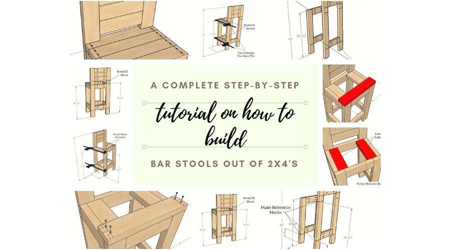 2x4 Step Stool