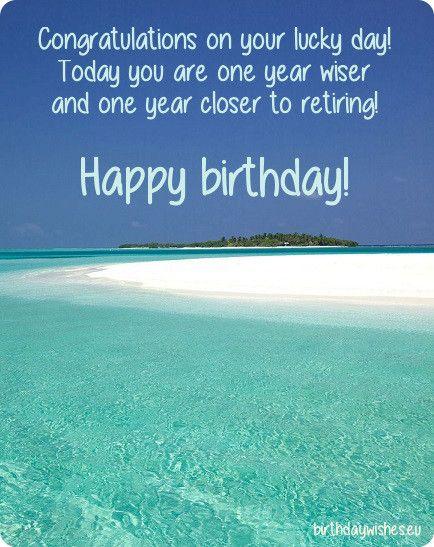 Birthday Card With Beach Hbd Wishes Birthday Wishes Birthday