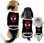 """Caomisetas---Homem-aranha- : """"Grandes poderes exigem grandes responsabilidades""""  Cãomiseta Homem Aranha  http://www.bompracachorro.com/p-1…/Caomisetas---Homem-aranha-   camisetasdahora"""
