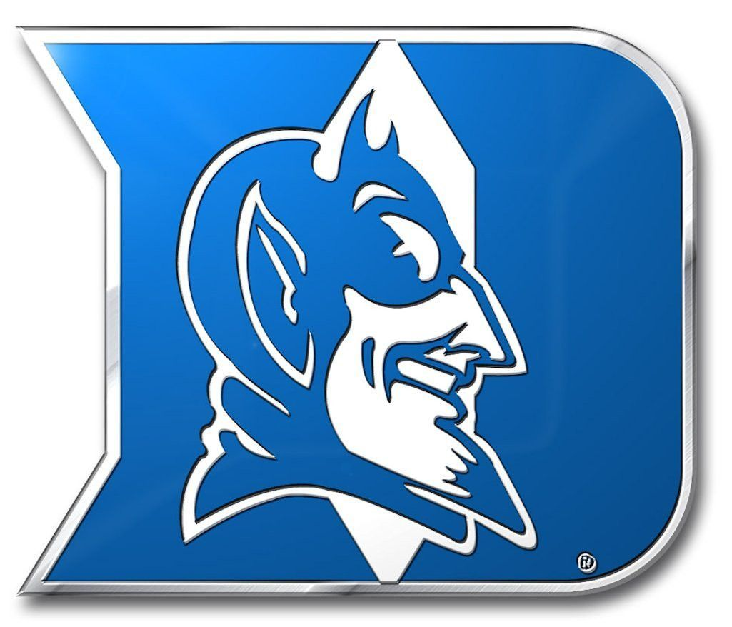 FANMATS Duke University Heavy Duty Aluminum Color Emblem