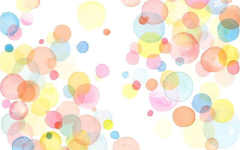 Desktop Wallpapers Blu Domain Watercolor Pattern Wallpaper