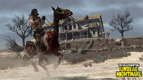 Red Dead Redemption Undead Nightmare Zombie Horse Google Search