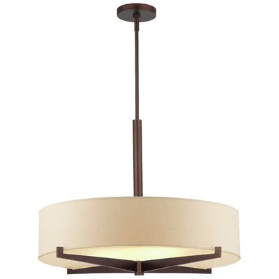 Philips consumer luminaire fisher island 3 light drum pendant reviews wayfair