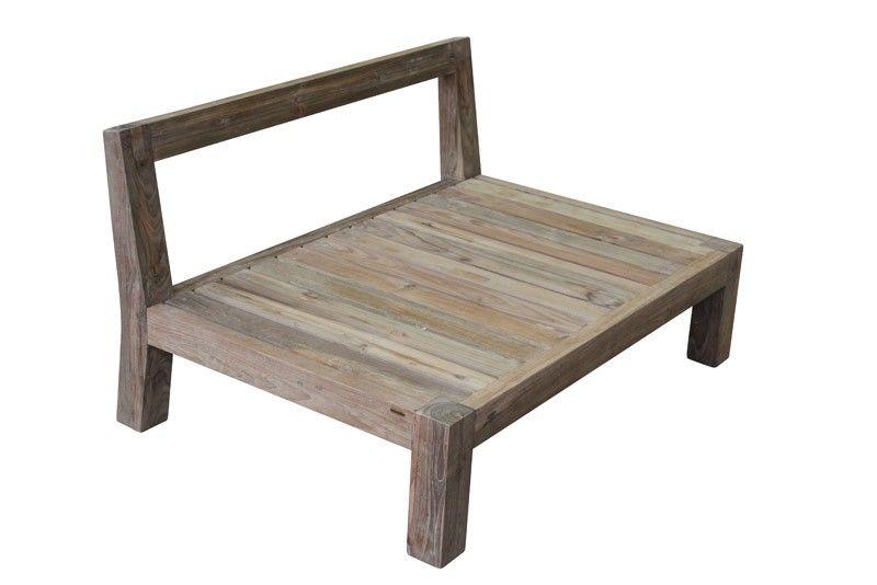Lounge 120 cm - Enkel loungebænk som kan benyttes for sig selv eller ...