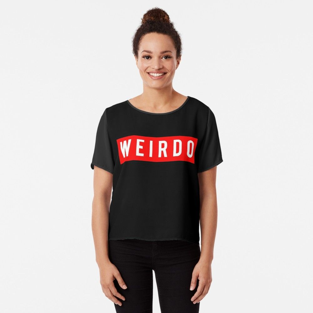 WEIRDO' Classic T-Shirt by TheArtism | WEIRDO | Mens tops, T