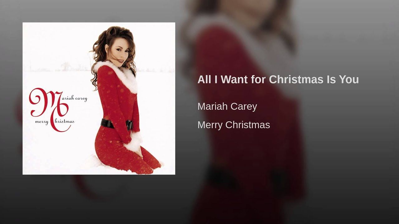 All I Want For Christmas Is You Youtube Mariah Carey Mariah Christmas Music