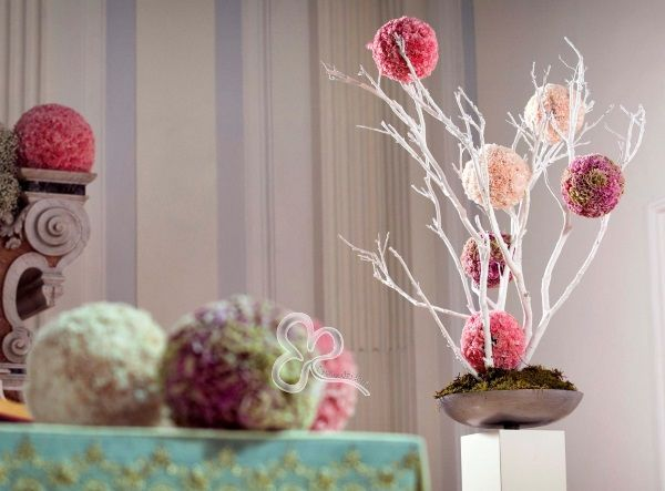 Per gli allestimenti floreali in chiesa di un matrimonio for Stile minimal chic