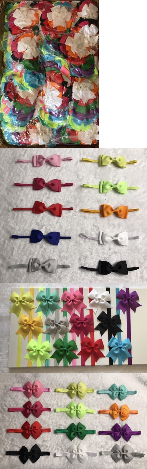 Hair accessories for babies ebay - Hair Accessories 57920 80 Pcs Mix Lot Kid Girl Baby Toddler Bow Headband Hair Band