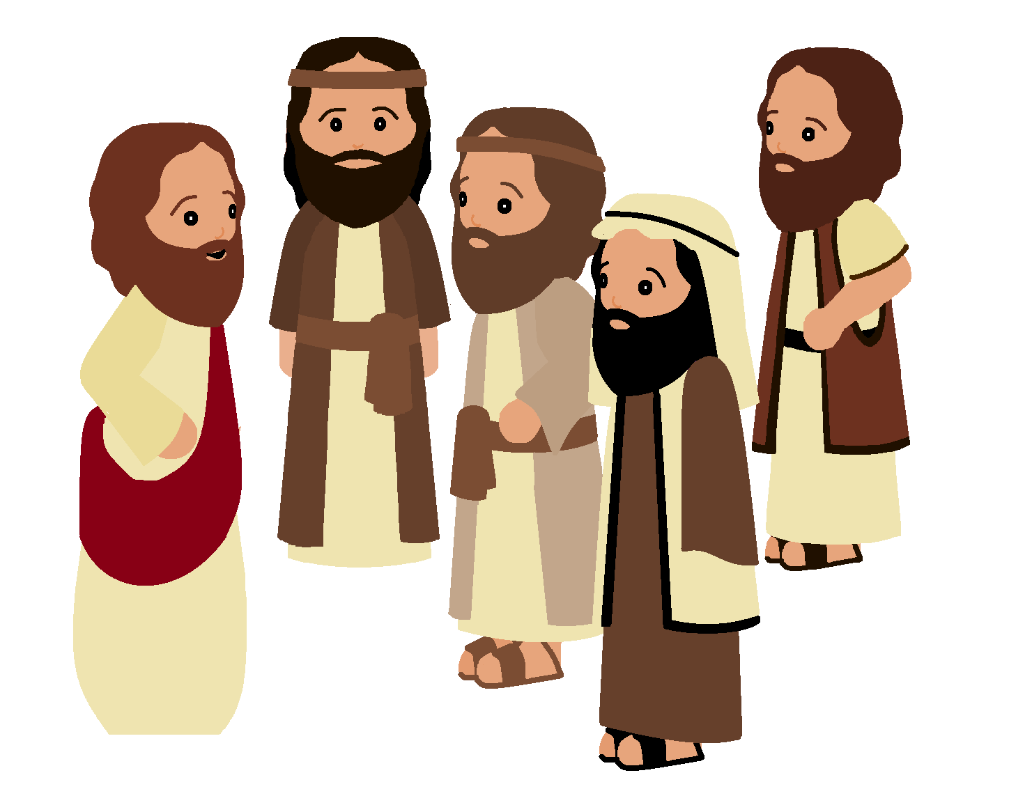 small resolution of jesus teaching clip art