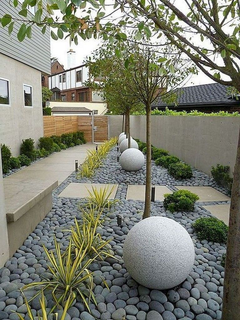 58+ Beautiful Low Maintenance Front Yard Landscaping Ideas ...