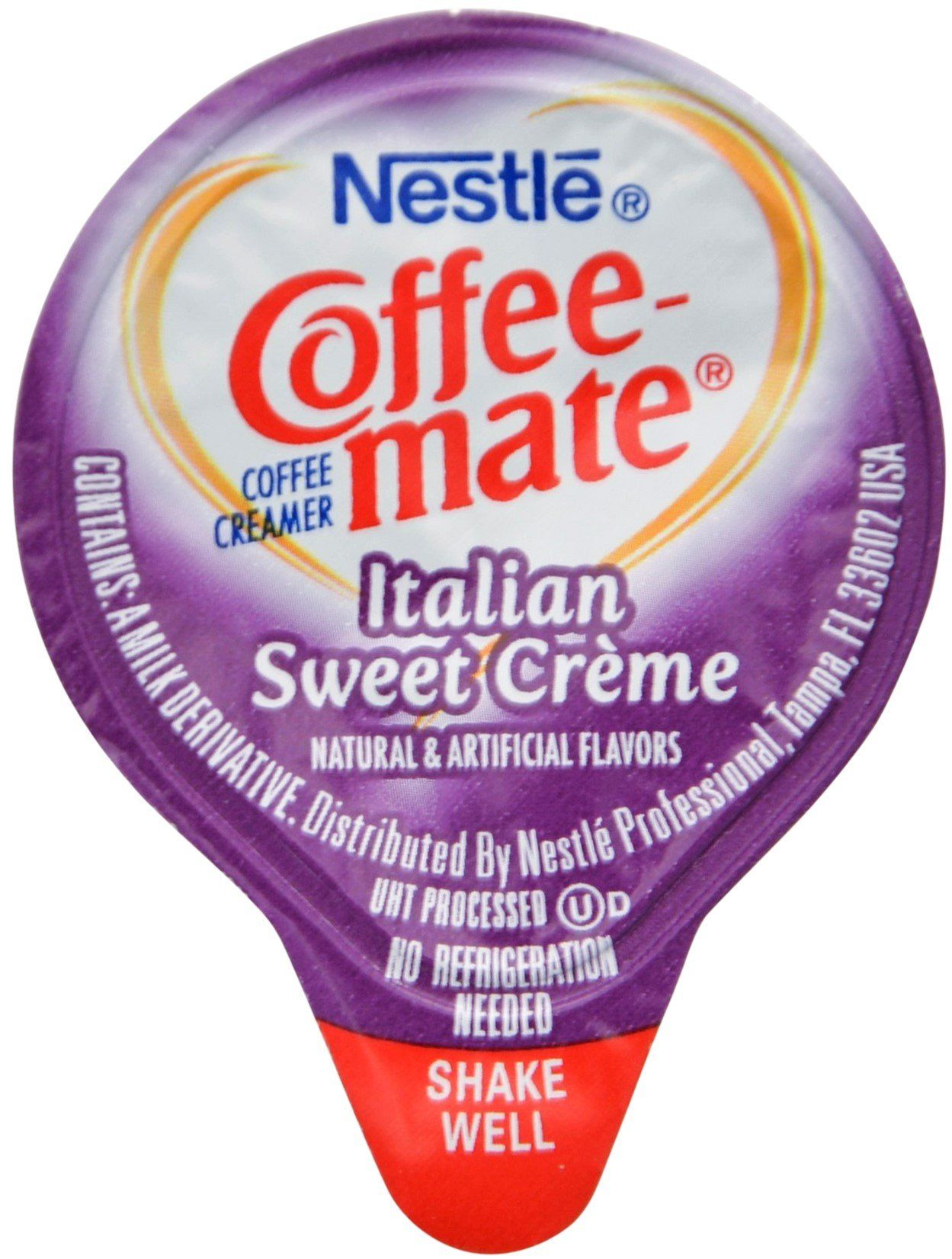 Coffee mate liquid 375oz variety pack 4 flavor 100 count